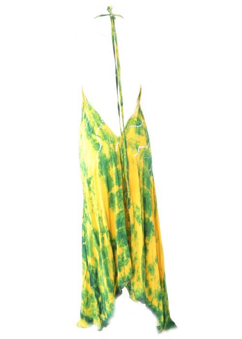 Boho Neckholderkleid Embroidery Seide 2020_2