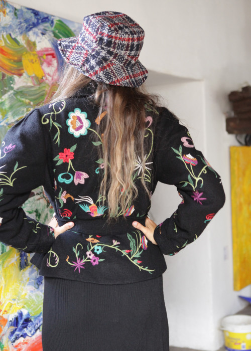Boho Jacke Embroidered Boho