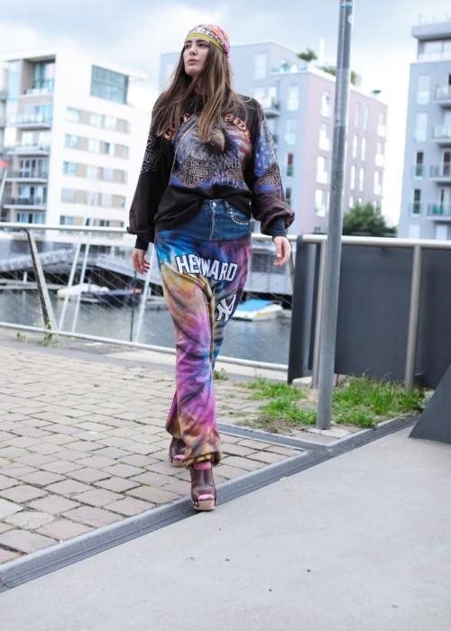 Jeans Sweat Batik Hose Heyward