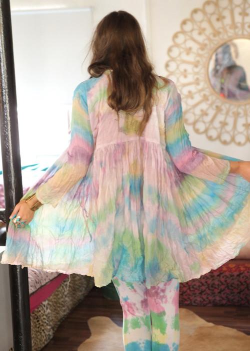 Bohemian Couture Jacke rainbow