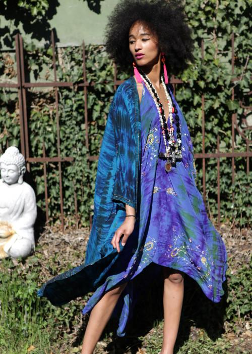 Boho Kimono Seide J
