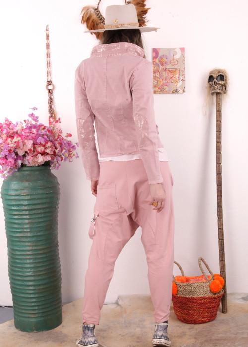 Sweathose Sarouel rosa