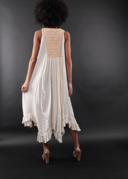 Bohemian Maxikleid Francesca Natural