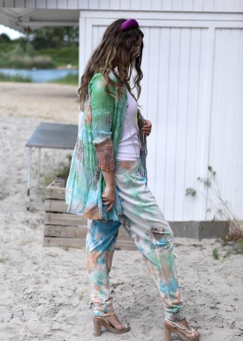 Bohemian Couture Jogging Pants Batik Pastell