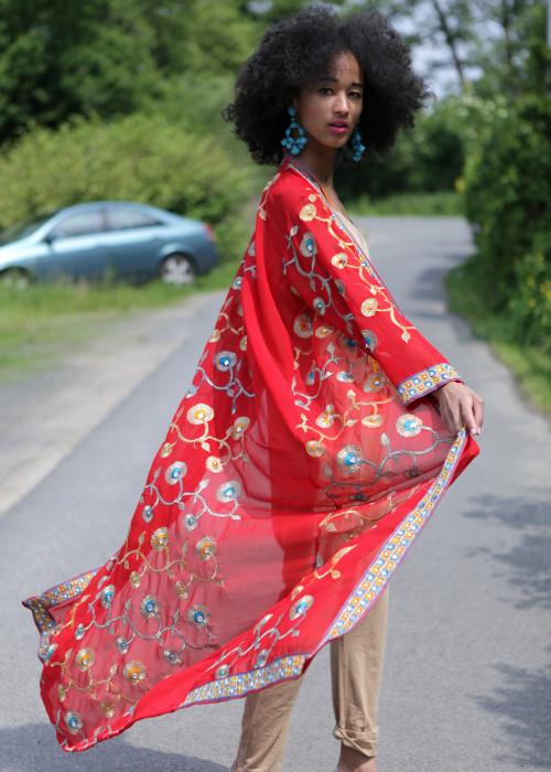 Boho Kimono Chiffon R