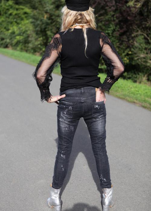 Vintage Jeans Paint