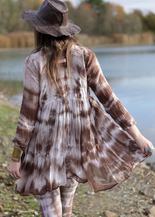 Bohemian Couture Jacke Ghost Sepia