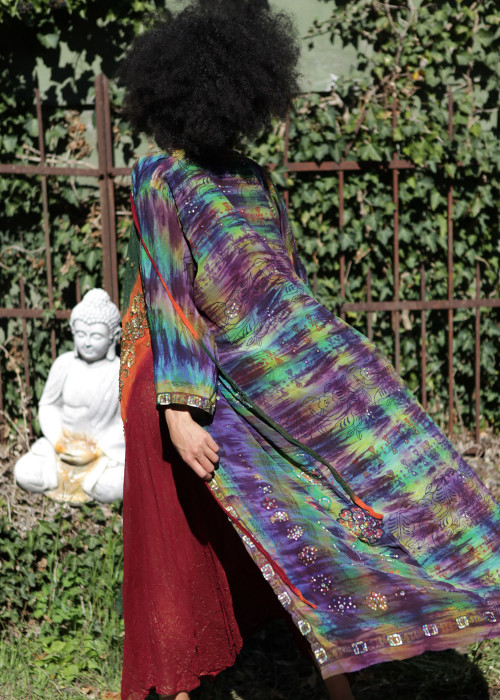 Boho Kimono Seide G
