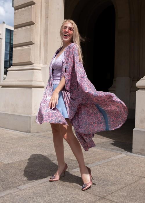 Boho Kimono Flair rosa