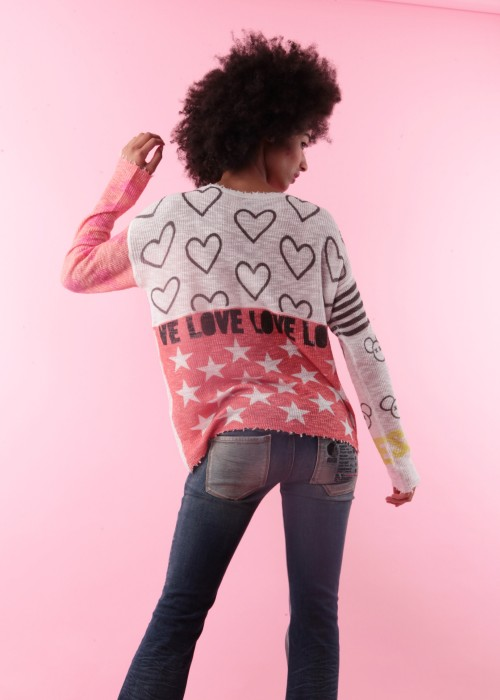 Pullover Patchwork Peace