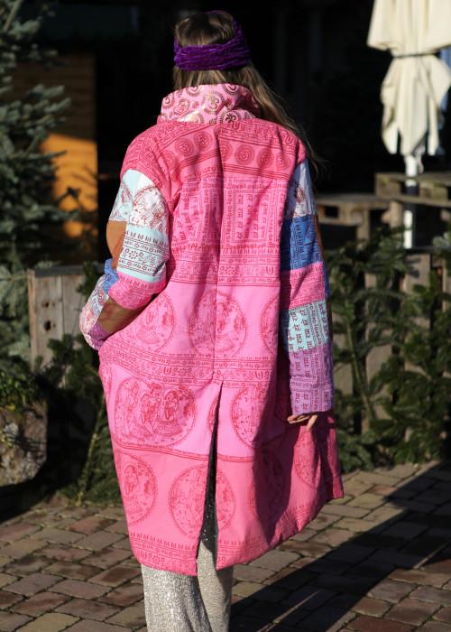 Boho Mantel  Puffer Coat