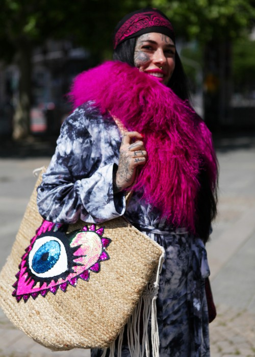 Boho Shopper XXL Tasche Eye