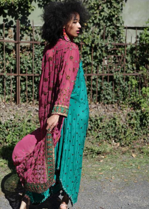 Boho Kimono Chiffon B