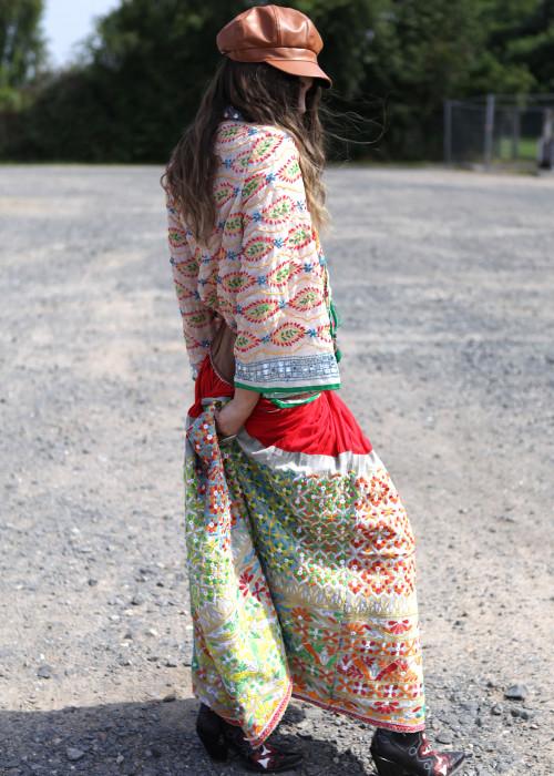 Boho Maxirock Embroidery No3
