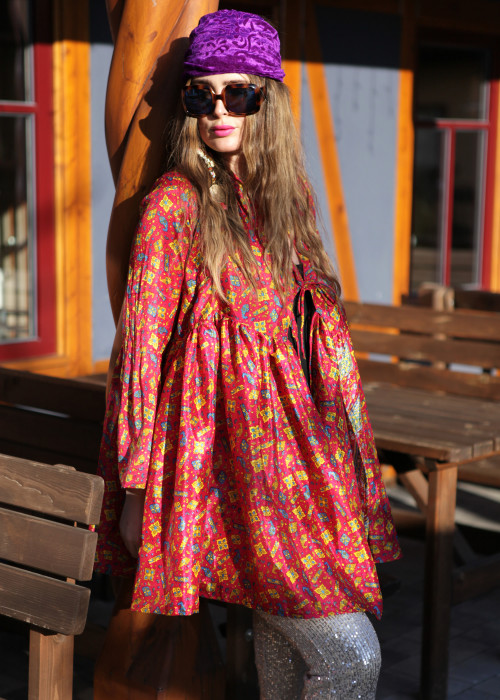 Bohemian Couture Jacke orange red