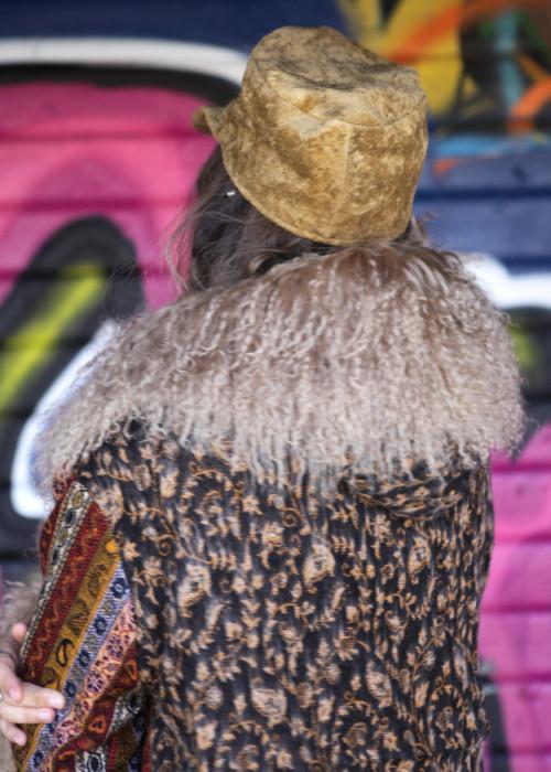 Festival Cap Cyrus Velvet caramel