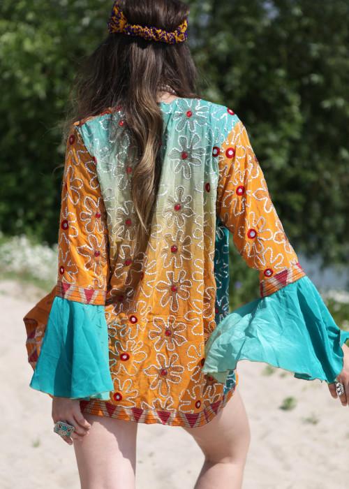 Boho Kimono Jacke 09