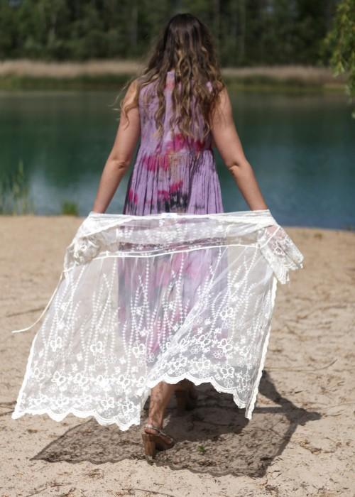 Bohemian Couture Kleid Batik