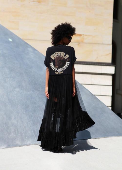 Buffalo Tuell Kleid HD schwarz