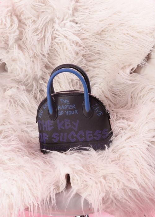 Boho Tasche Petite Keep Smiling Blue-Blue