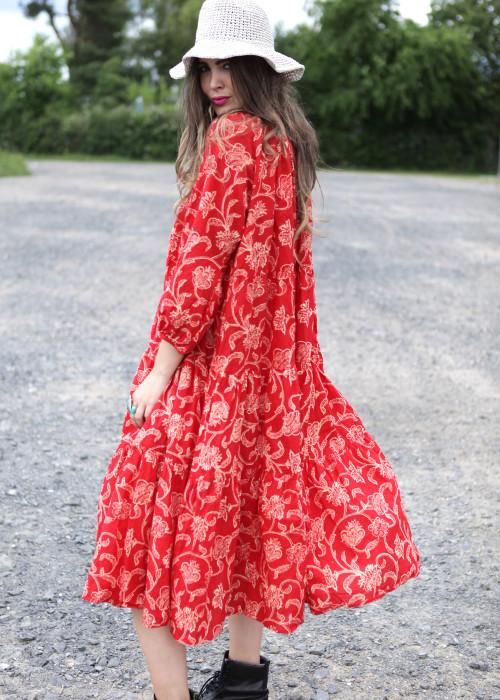 Bohemian  Kleid Oversize