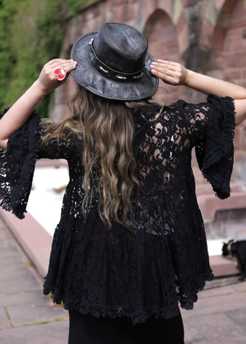 Gypsy Vintage Hut black