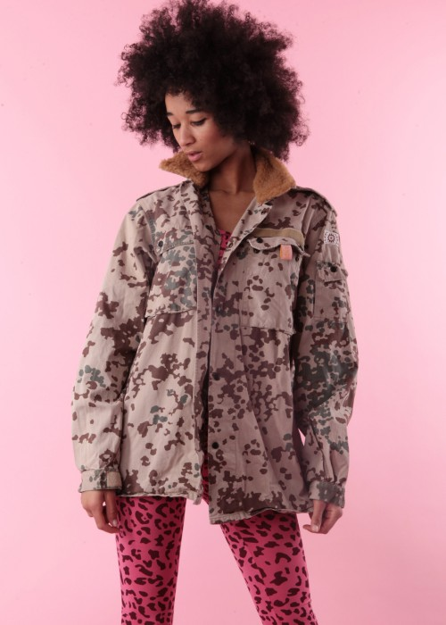 Boho Spring Field Jacke Jungle