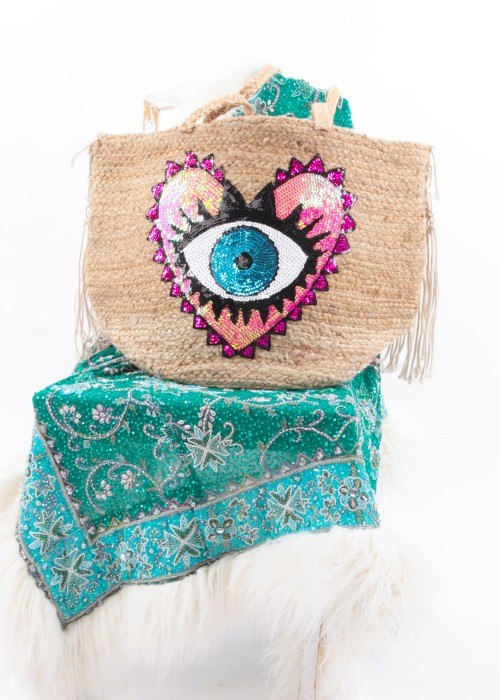 Boho Shopper XXL Tasche Eye