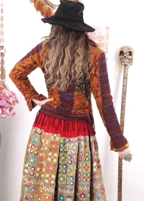 Boho Maxirock Embroidery No8