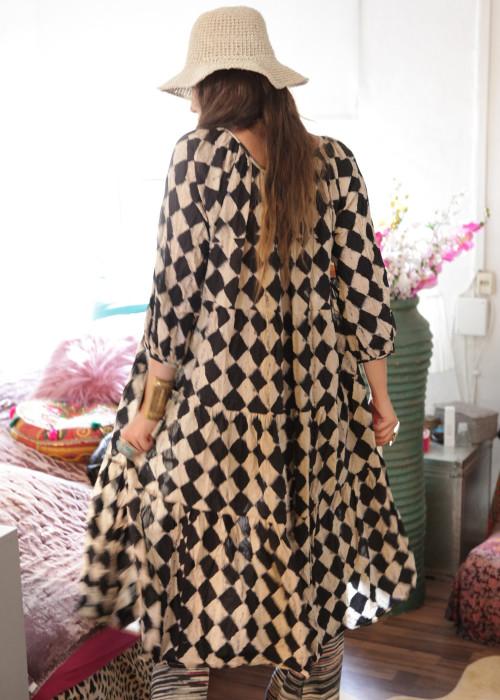 Bohemian  Kleid Oversize Bad Man