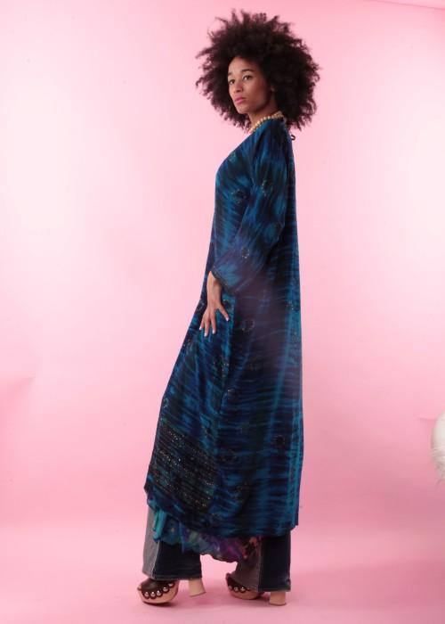 Boho Kimono Seide J 2021_2 Batik