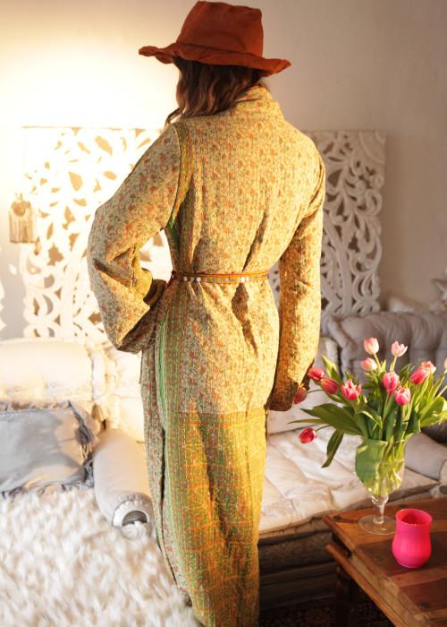Boho Kimono Mantel Madhu Vintage Flower