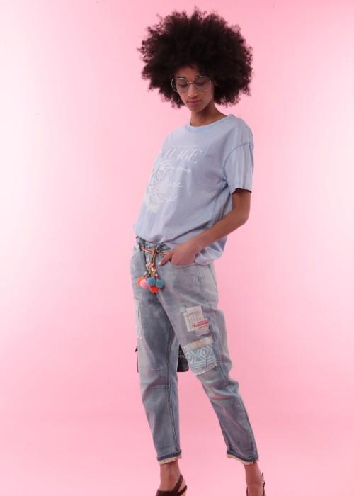 Boho Boyfriend Jeans