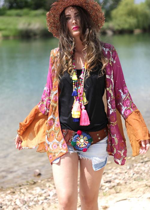 Boho Kimono Jacke 02