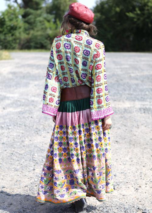 Boho Maxirock Embroidery No4