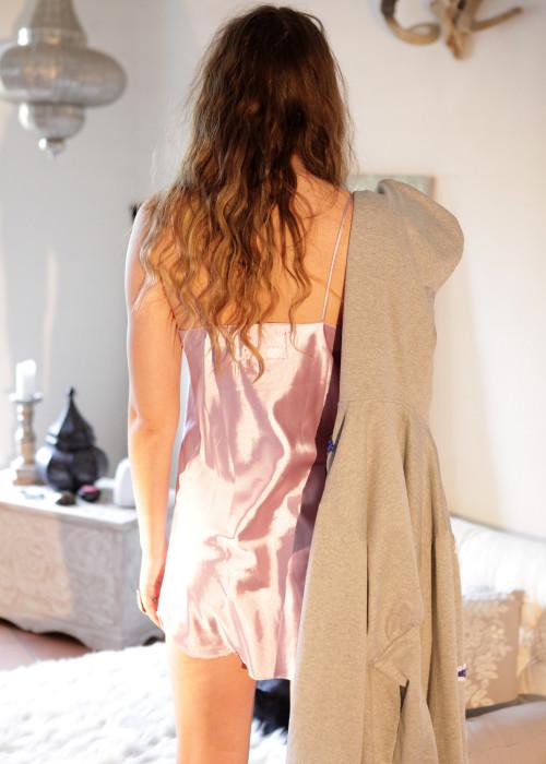 Kleid Lingerie Top Sleep flieder