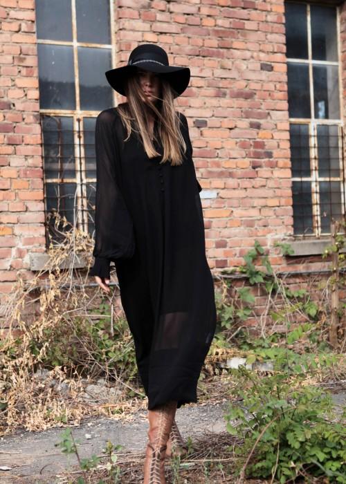 Maxi Kleid Shelly schwarz