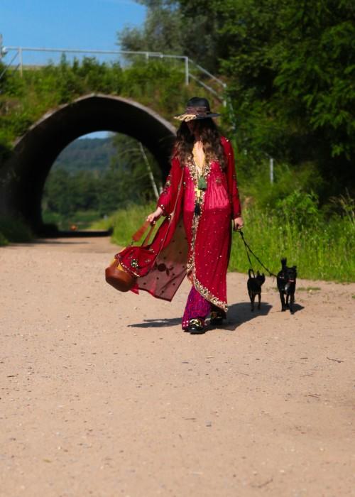 Boho Kimono Chiffon 2021_F