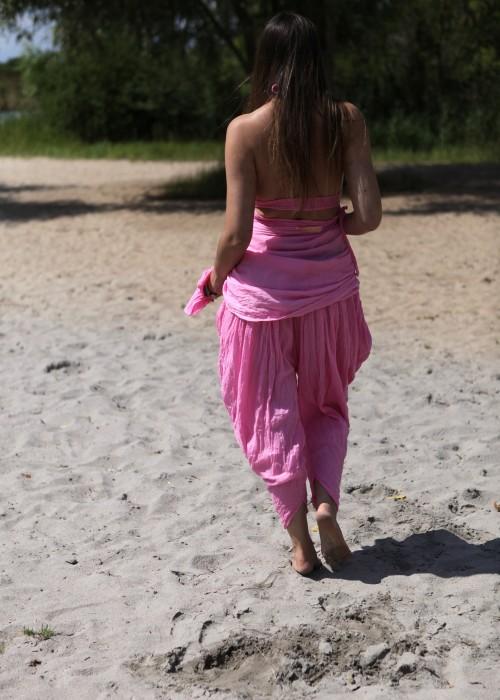 Bohemian Harems Hose Candy pink