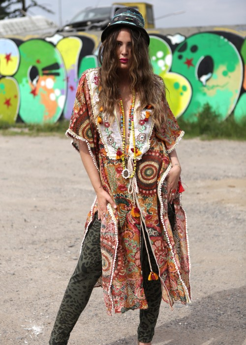 Boho Kimono Poncho Gypsy