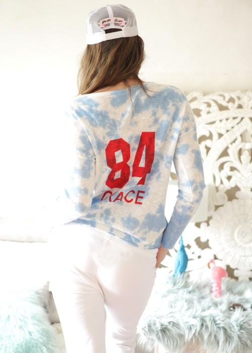 Pullover Batik Dream blau
