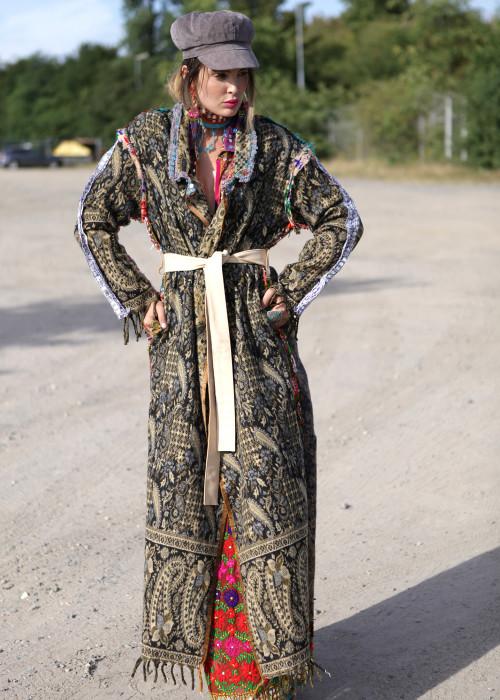 Boho Mantel Gypsy beige