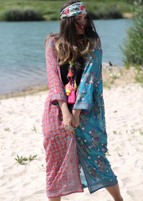 Boho Kimono Chiffon K-8
