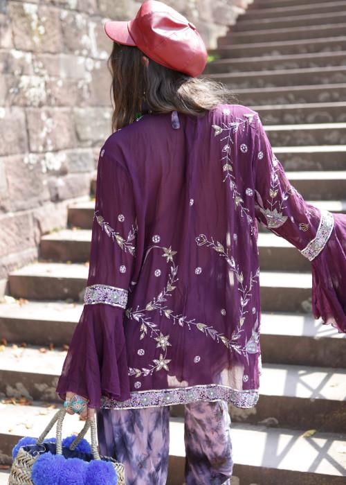 Boho Kimono Jacke 10