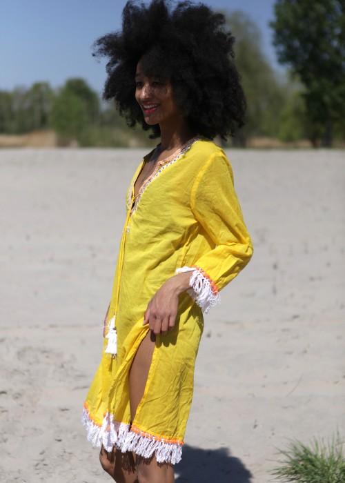 Boho Tunika Sun gelb