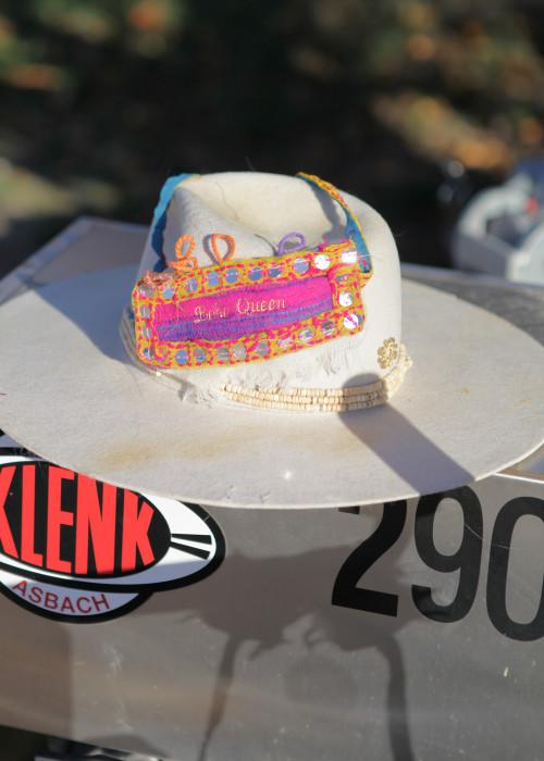 Boho Pulsera Armband pink-senf