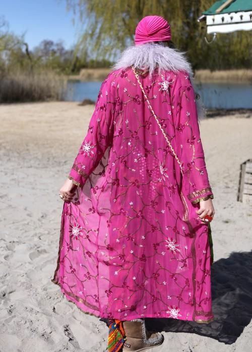 Boho Kimono Chiffon K-2