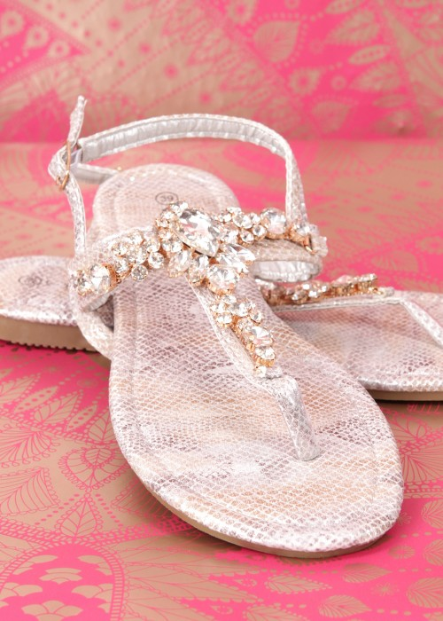 Boho Sandalen Princess gold
