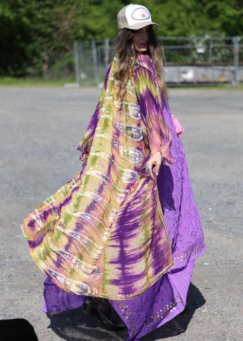 Boho Kimono Seide N