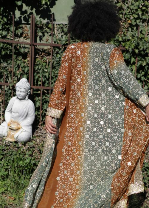 Boho Kimono Chiffon I